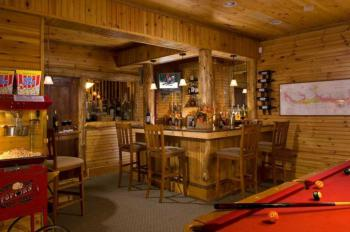 "Enjoy the public areas of the lodge- help yourself ""Honor Bar"" and pool table"