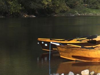The classic McKenzie River drift boat