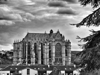 magnifique vue de la cathedrale