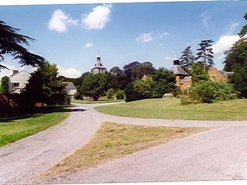 Approaching Thornham Hall
