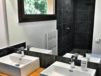Garden suites with walk in shower.