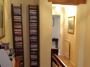 Hallway and DVD collection