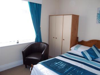 Newly refurbished Double Ensuite room with flat screen TV, drinks facilities, towels and toiletries. Ensuite/shower. Hairdryer.