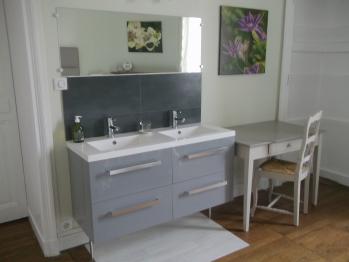 Suite LE JARDIN : Chambre 2 vasques