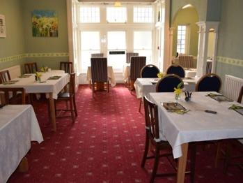 Breakfast room & dining room
