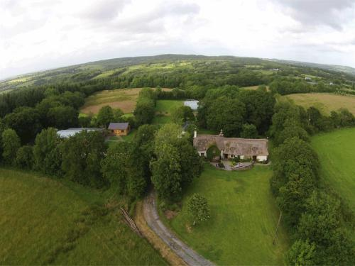Set in 20 acres of organic meadows