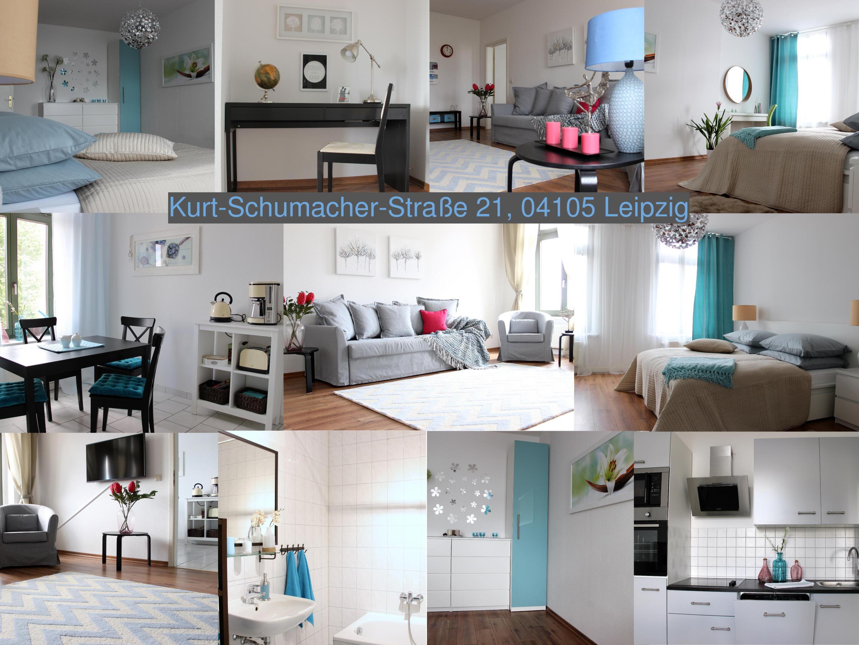 Apartment-Premium-Eigenes Badezimmer-Kurt-Schumacher-Straße 21 - Basistarif