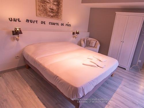 Double-de Luxe-Salle de bain Privée-Vue sur Jardin-La chambre Romantique