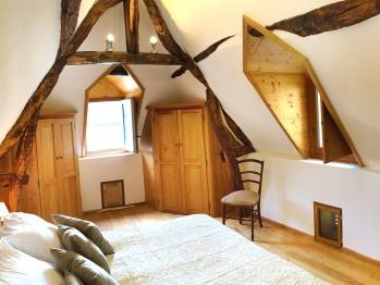 Cottage-Supérieure-Salle de bain et douche-Vue sur Jardin-maison O'Galop