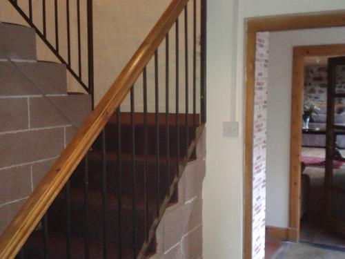 Stairway from lounge to Bedrooms