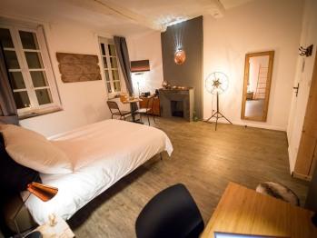 Suite Junior-Salle de bain Privée-Vue sur Jardin-EXPLORATEURS - 2ème Etage