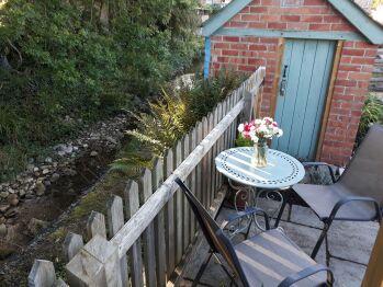 Stream-side garden