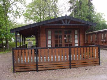 Cabin-Standard-Private Bathroom-Park View-Lurchers Cabin - Base Rate