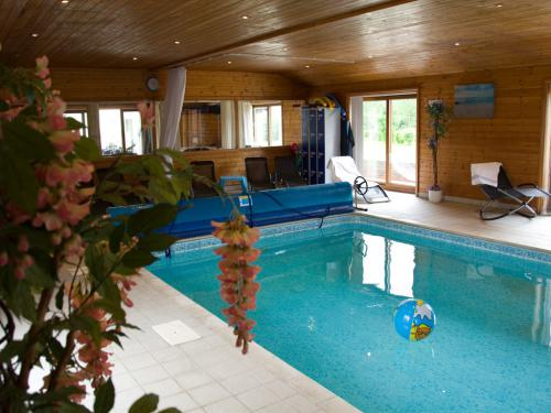 Enjoy our lovely environmentally heated swimming pool
