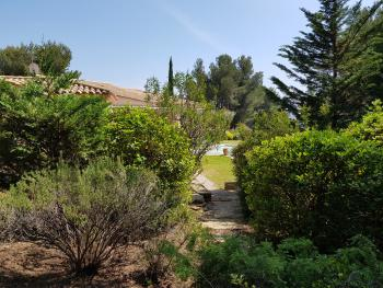 Jardin, pinède