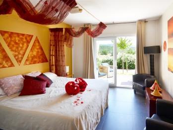 Suite-Baño en la habitacion-Vista a la Montana-Romántica
