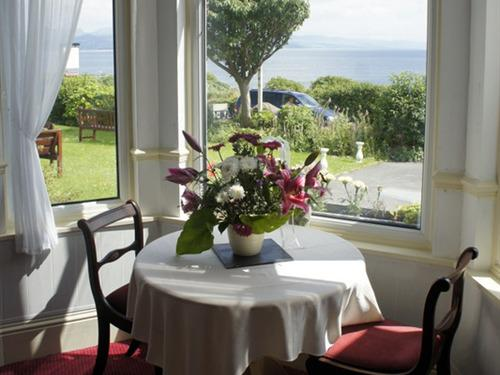 Bay Window View from Restaurant