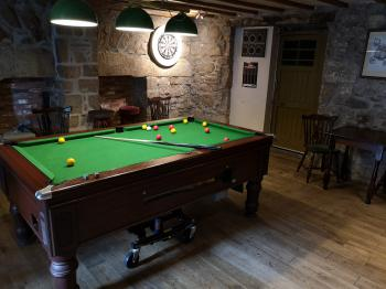 Pool Area in Public Bar