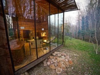 Cabine-Cottage-Salle de bain Privée-Vue sur Jardin