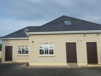 House number 2, 2 storey house, 4 bedrooms, sleeps 13, 1 bathroom.