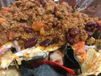 Try our Nachos with Chili