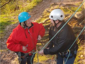 Safe and Friendly Rock Climbing Instruction