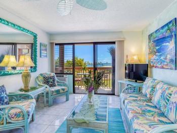 K129 Condo/ 2 bedrooms - K & Double - 3 Lanais; Ocean View