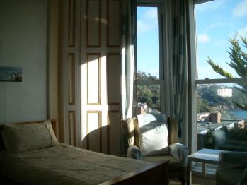 Spacious Bedroom; Captins Quarters