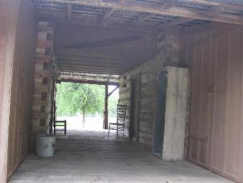 Dog Trot for the Log Cabin (open breezeway between cabins)