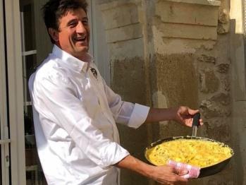 Omelette à la truffes