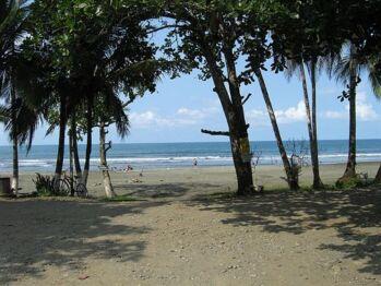 Playa Negra beach just steps away