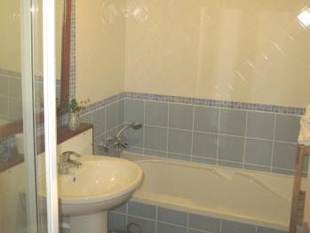 Chambre Iris : salle de bains