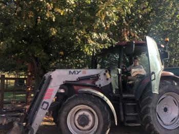 Balade en tracteur sur demande