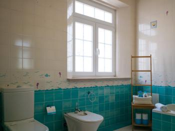 Bathrooms in traditional Portuguese style and with all modern comfort