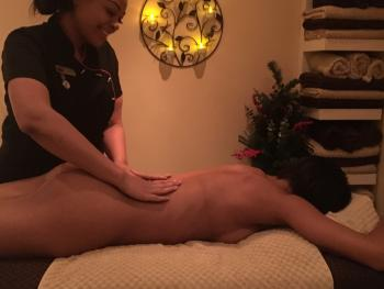 One of 18 different massages available
