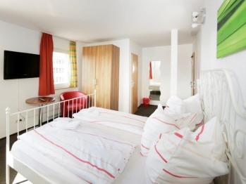 Standard-Doppelzimmer-Ensuite Dusche