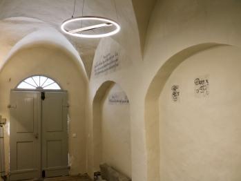 Eingangsbereich mit Relikten des 17. Jhds.