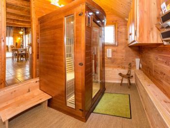 L'entrée et le sauna infrarouge