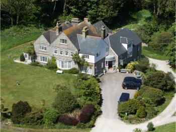 Higher Faugan - Ariel view of Main House
