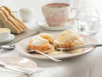 Eggs Royale Breakfast