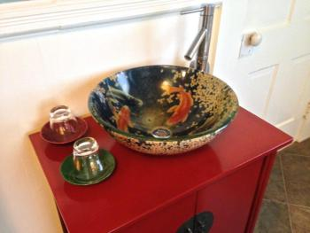 James Michener Bathroom Sink