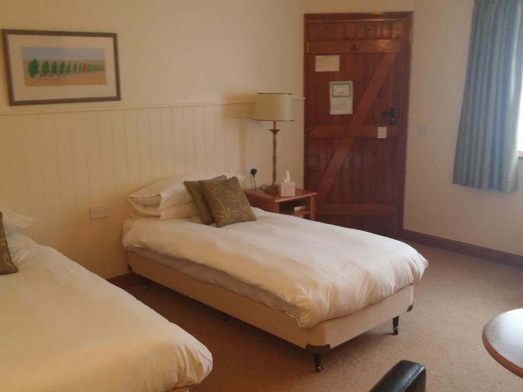 Double Room with Courtyard View (Twin bed option available)