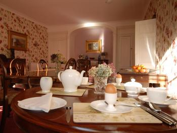 Royal Worcestershire China and locally sourced breakfasts makes everything taste better