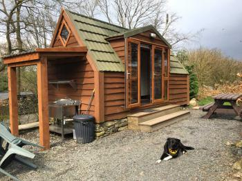 Cartmel Camping Pod - Outside Cartmel Camping Pod